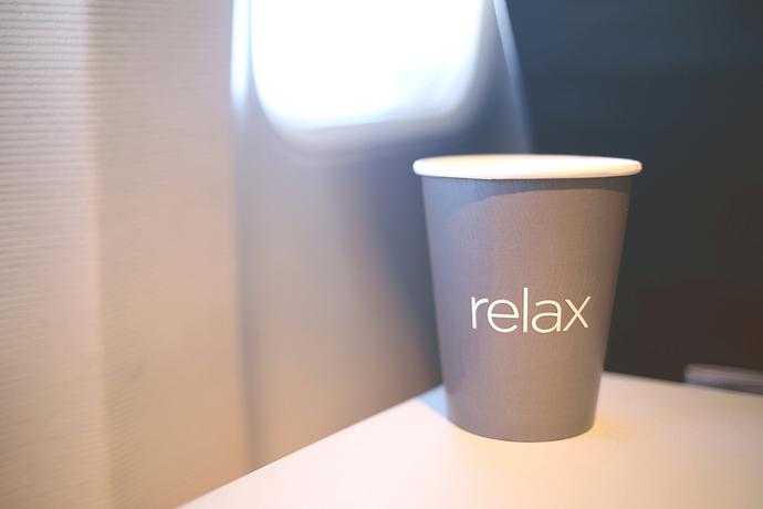Kaffe im FLugzeug