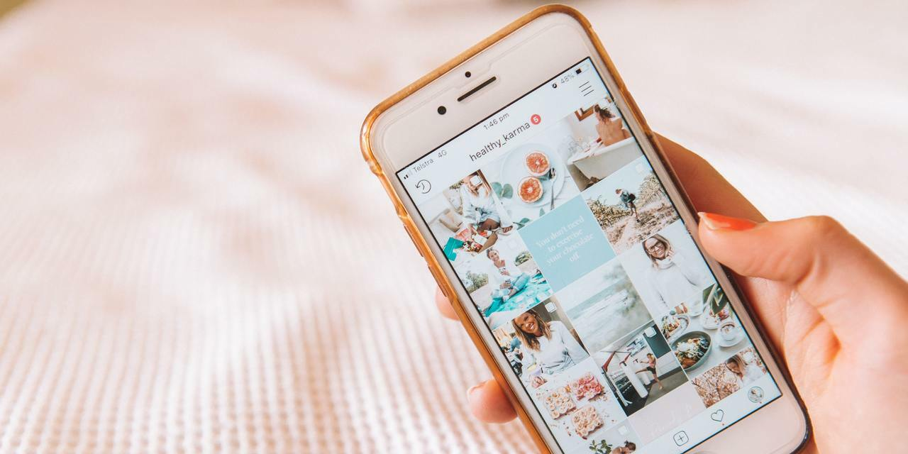 Iphone mit Instagram