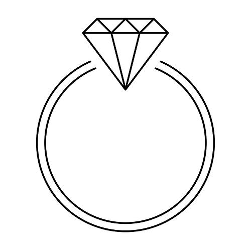 Logo eines Diamantrings