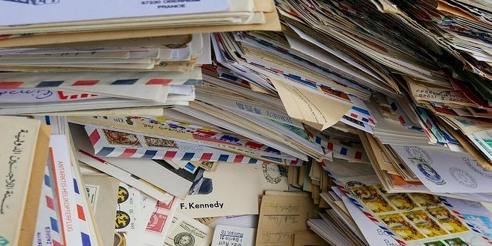 Briefstapel