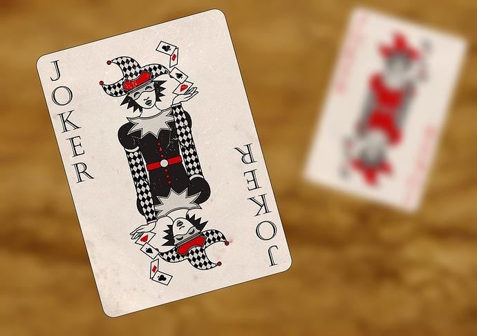 Bild einer Joker Karte